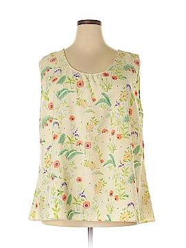 Rachel Antonoff Sleeveless Blouse Size 22w (Plus)