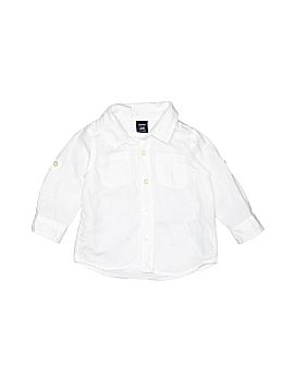 Baby Gap 3/4 Sleeve Button-Down Shirt Size 12-18 mo