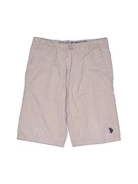 U.S. Polo Assn. Khaki Shorts Size 12
