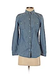 Old Navy Women Long Sleeve Button-Down Shirt Size XS