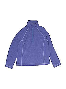 White Sierra Fleece Jacket Size S (Kids)