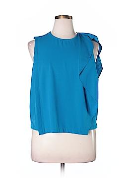 RACHEL Rachel Roy Short Sleeve Blouse Size 16