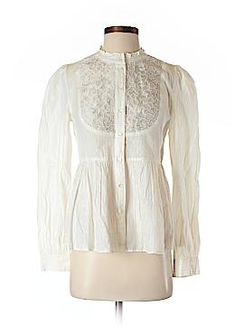 Floreat Long Sleeve Button-Down Shirt Size 2