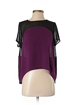 Karen Zambos Vintage Couture Short Sleeve Blouse Size S