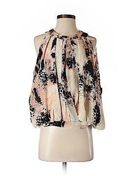 Chelsea Flower Sleeveless Silk Top Size XS