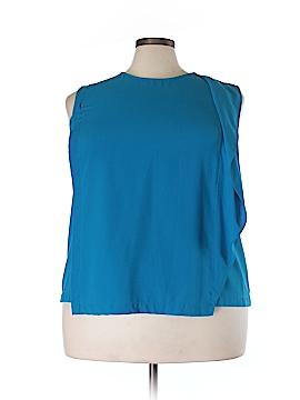 RACHEL Rachel Roy Short Sleeve Blouse Size 22W (Plus)