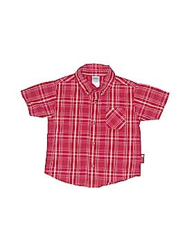 Gymboree Short Sleeve Button-Down Shirt Size 18-24 mo