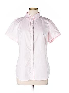Tommy Hilfiger Short Sleeve Button-Down Shirt Size L
