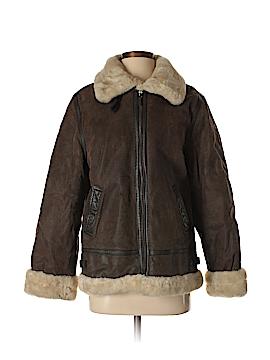 St. John's Bay Leather Jacket Size M