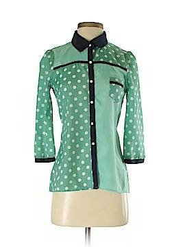 Yumi 3/4 Sleeve Blouse Size 0 - 2