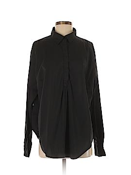 Universal Standard Long Sleeve Button-Down Shirt Size M (Plus)