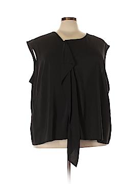 Jete Short Sleeve Blouse Size 5X (Plus)