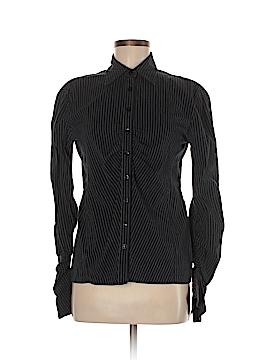 Le Chateau Long Sleeve Button-Down Shirt Size M