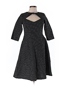 Cherry Velvet Casual Dress Size M