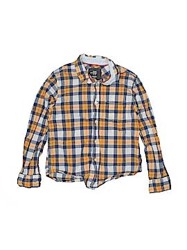 H&M L.O.G.G. Long Sleeve Button-Down Shirt Size 8 - 9