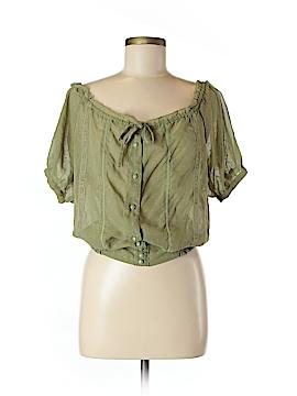 Ultra Flirt 3/4 Sleeve Blouse Size M