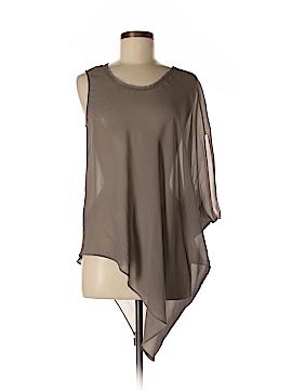Helmut Lang Sleeveless Silk Top Size M