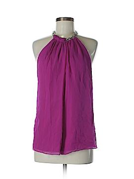 Diane von Furstenberg Sleeveless Silk Top Size L