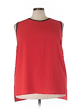 Vince Camuto Sleeveless Blouse Size 3X (Plus)