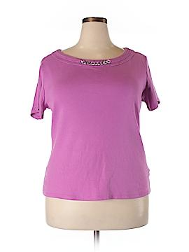 Rafaella Sleeveless T-Shirt Size 2X (Plus)
