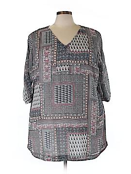 JunaRose 3/4 Sleeve Blouse Size 22 (Plus)