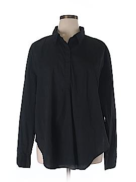 Universal Standard Long Sleeve Button-Down Shirt Size XL (Plus)