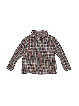 WonderKids Long Sleeve Button-Down Shirt Size 3T