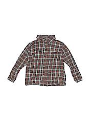 WonderKids Boys Long Sleeve Button-Down Shirt Size 3T