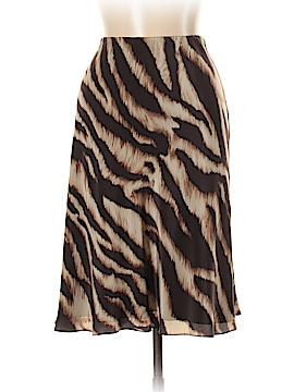 Ann Taylor Factory Silk Skirt Size 10
