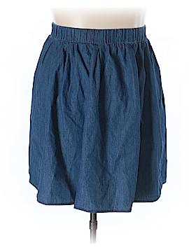 JunaRose Denim Skirt Size 22 (Plus)