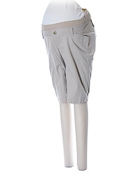 Old Navy Khaki Shorts Size 4 (Maternity)