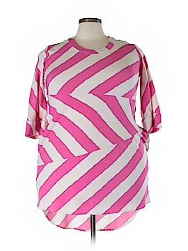 Melissa McCarthy Seven7 3/4 Sleeve Blouse Size L