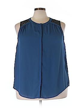 JunaRose Sleeveless Blouse Size 22 (Plus)