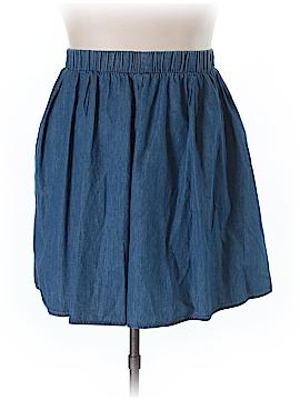 JunaRose Denim Skirt Size 14 (Plus)