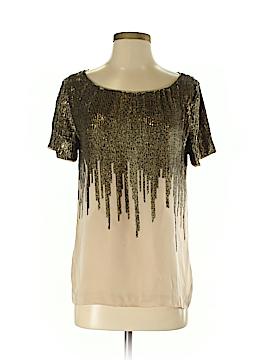 Club Monaco Short Sleeve Silk Top Size S (Petite)