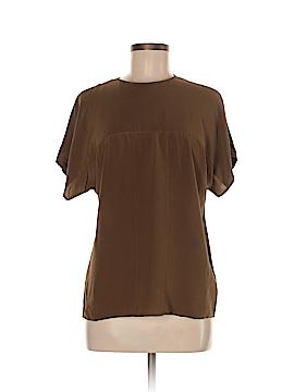 Linda Allard Ellen Tracy Short Sleeve Silk Top Size 6