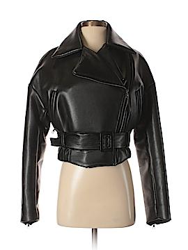 Dolce & Gabbana Faux Leather Jacket Size 40 (IT)