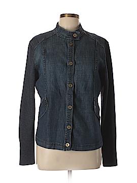 St. John Sport Denim Jacket Size L