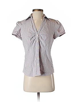 Ann Taylor LOFT Outlet Short Sleeve Button-Down Shirt Size S