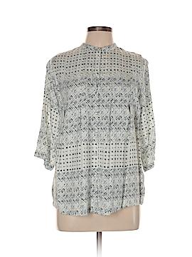 Carmakoma 3/4 Sleeve Blouse Size 12 Plus (XS) (Plus)