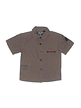 GS115 Short Sleeve Button-Down Shirt Size 4T