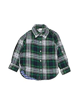 Gap Kids Long Sleeve Button-Down Shirt Size 3