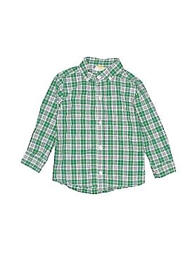 Crazy 8 Long Sleeve Button-Down Shirt Size 3