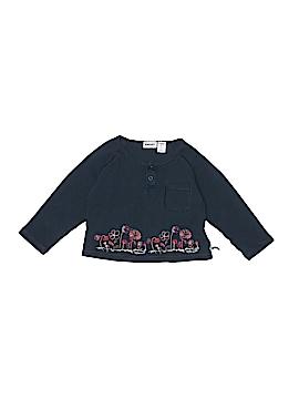 DKNY Long Sleeve Henley Size 24 mo