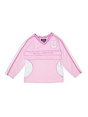 NHL Girls Long Sleeve T-Shirt Size S (Kids)