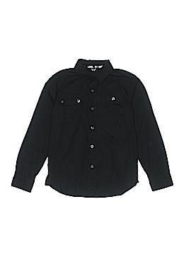 Shaun White Long Sleeve Button-Down Shirt Size S (Youth)