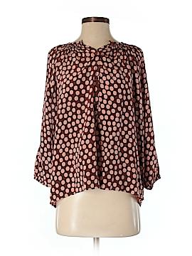 Barneys New York CO-OP 3/4 Sleeve Silk Top Size S