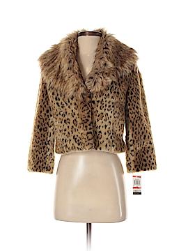 INC International Concepts Faux Fur Jacket Size P