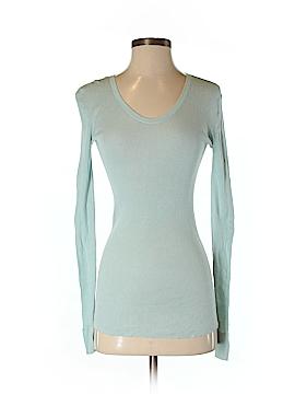 Inhabit Long Sleeve Silk Top Size S
