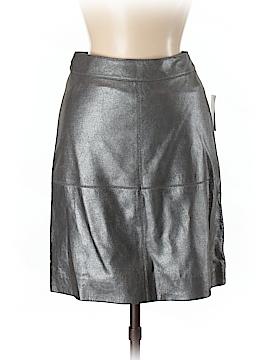 Pink Tartan Leather Skirt Size 2